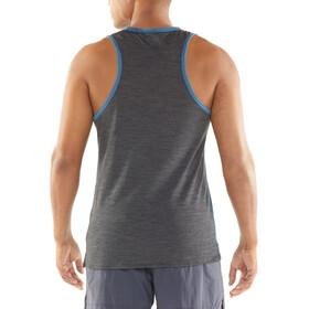 Icebreaker Amplify Koszulka do biegania bez rękawów Mężczyźni niebieski
